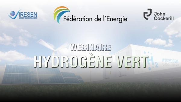 Fédération de l'Énergie : Webinaire sur l'hydrogène Vert