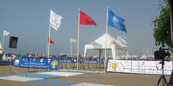 ONEE : Le Pavillon Bleu hissé sur la plage de Bouznika