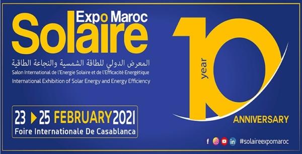 Solaire Expo Maroc en février 2021