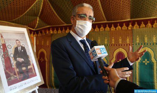 M. Rabbah s'informe du bon fonctionnement du réseau d'alimentation en électricité à Marrakech