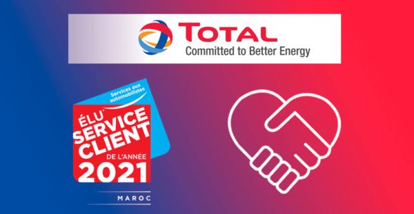 Total Maroc est élu « Service Client de l'année » pour la 4e année consécutive