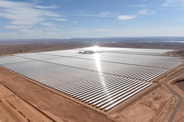La méga-centrale solaire de Noor Ouarzazate permet d'alimenter près de deux millions de Marocains en électricité