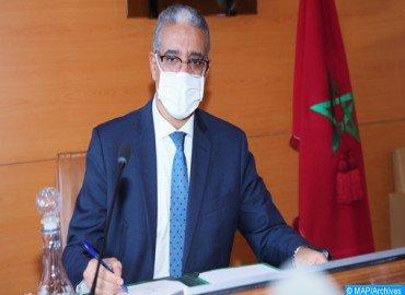 M. Rabbah réaffirme l'engagement du Maroc pour une relance verte de l'Afrique après la covid-19