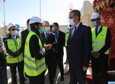 Région Dakhla-Oued Eddahab : Le projet de raccordement électrique, un pilier important pour renforcer la dynamique économique