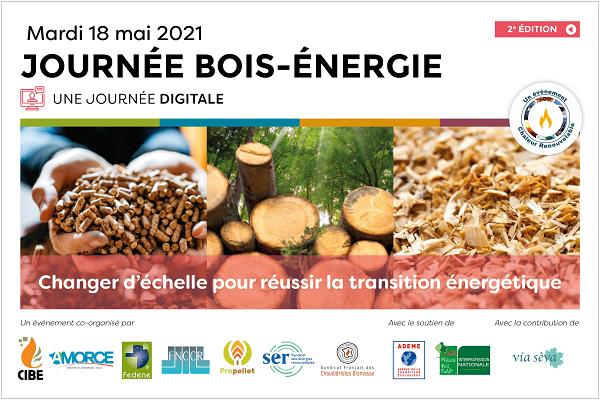 "Journée Digitale ""Bois-Énergie"" Le 18 mai 2021"