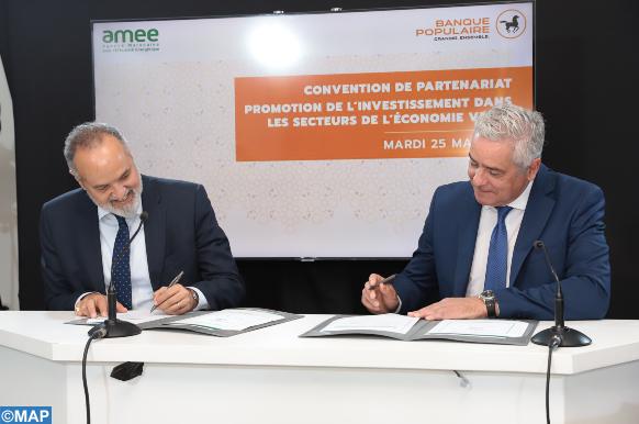 AMEE- Groupe BCP : Partenariat autour de l'investissement en économie verte